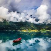 Jezioro Oppstryn, Norwegia